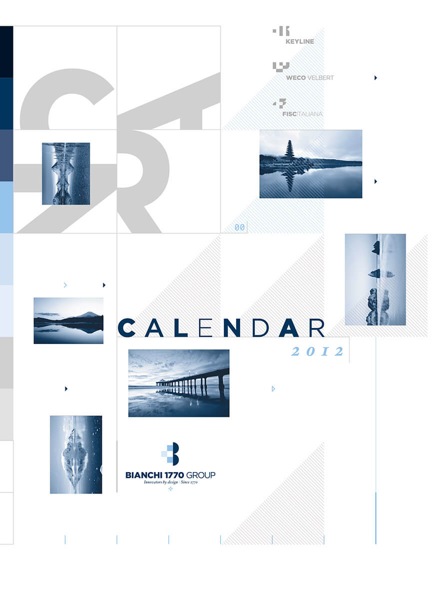 Designer Calendar Front Cover