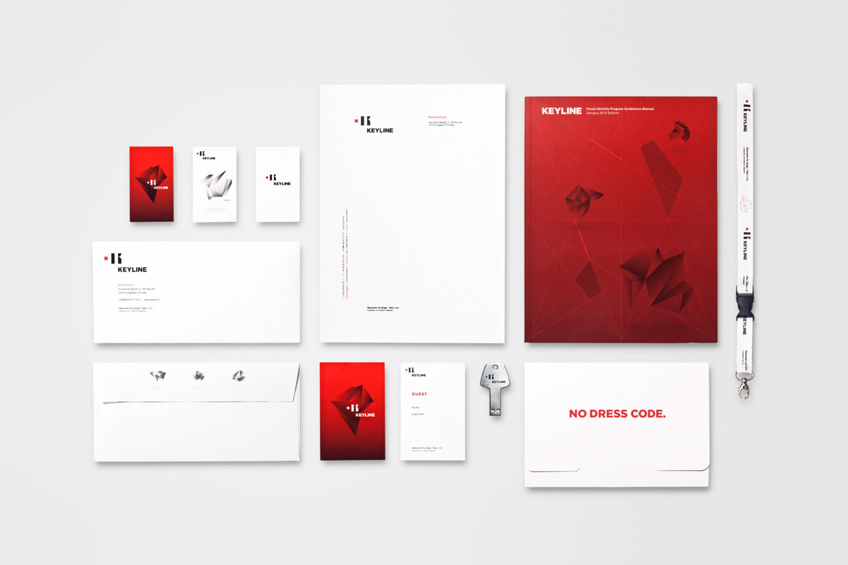 Keyline Visual Identity Samples