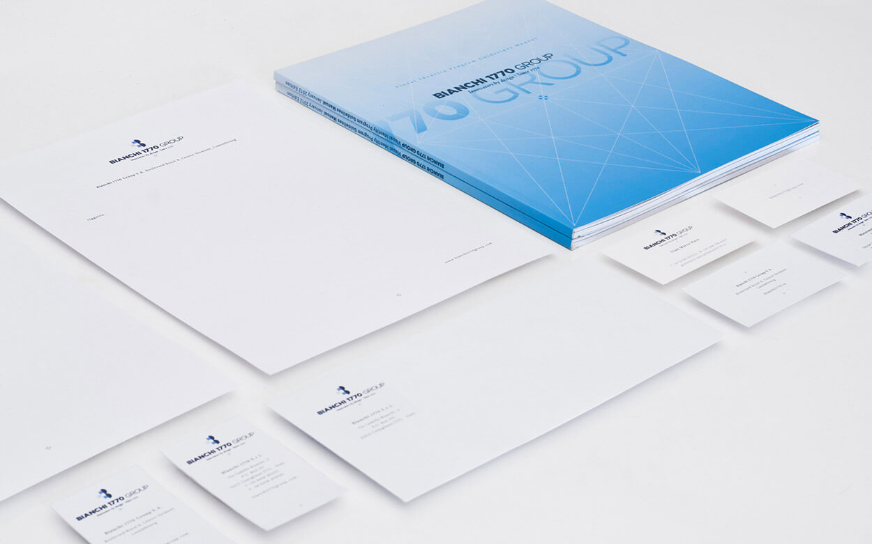 Bianchi 1770 Group Rebranding - Stationery