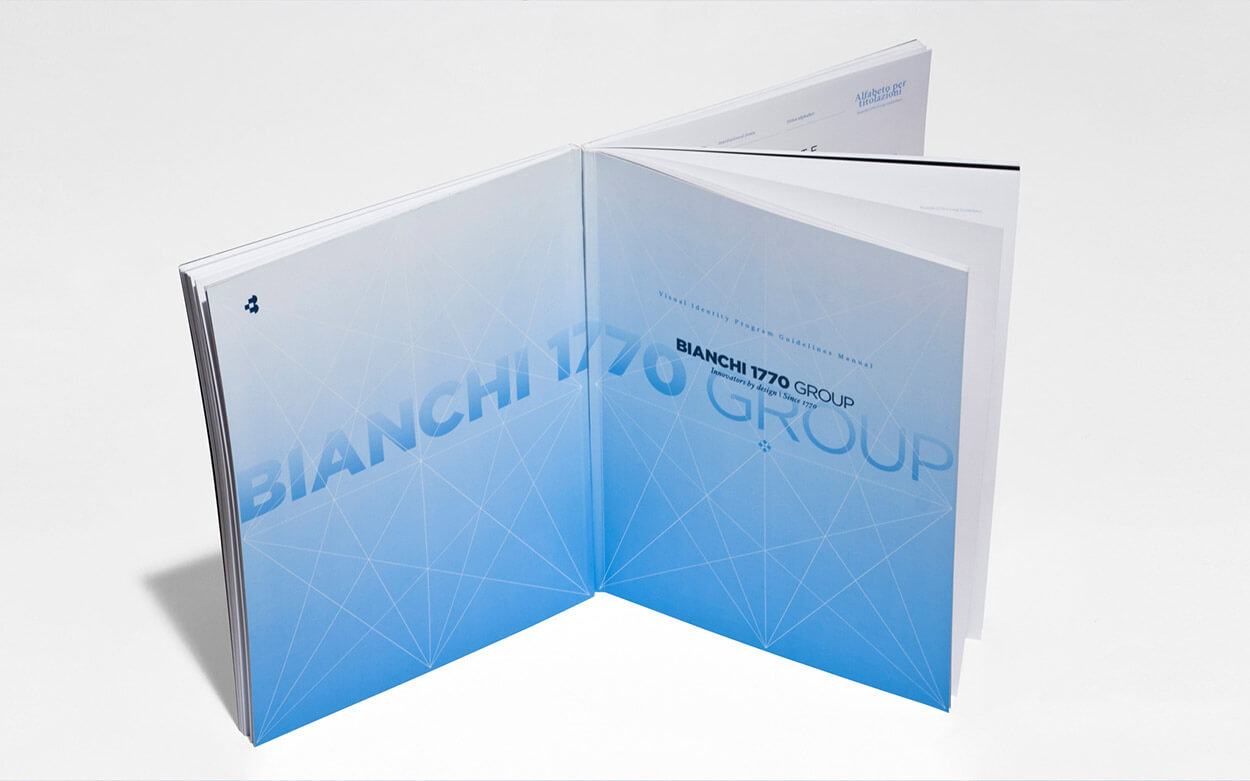 Bianchi 1770 Group Rebranding - Guidelines Manual Cover