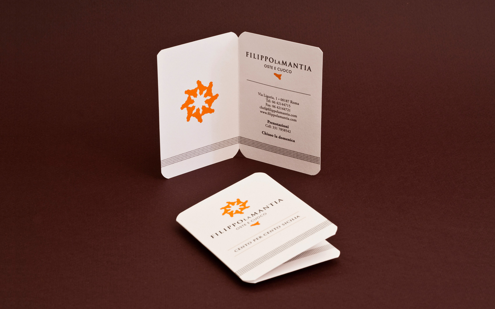 Filippo La Mantia Rebranding - Business Card