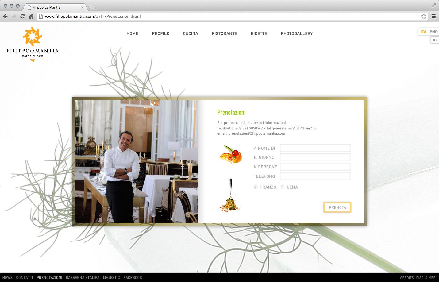 Filippo La Mantia Rebranding - Web Site 4