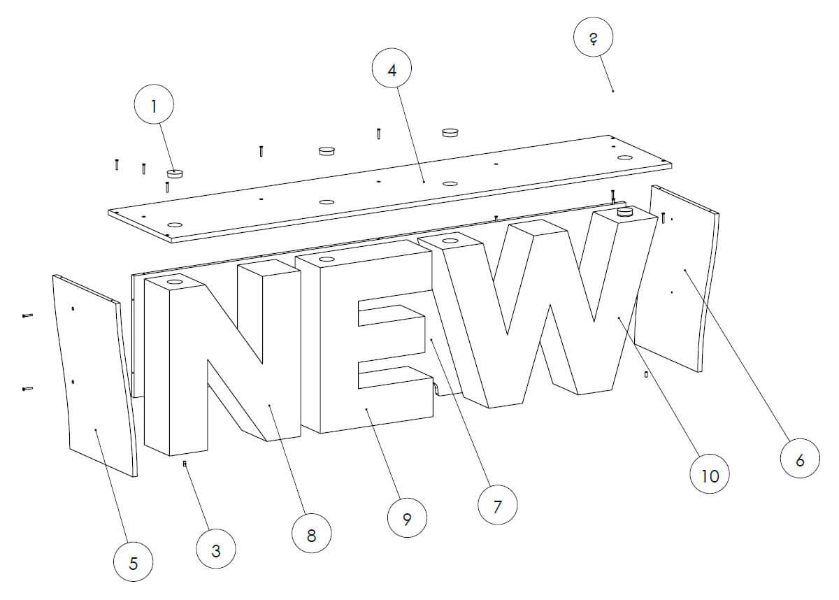 Keyline Exhibition Stand Design 1