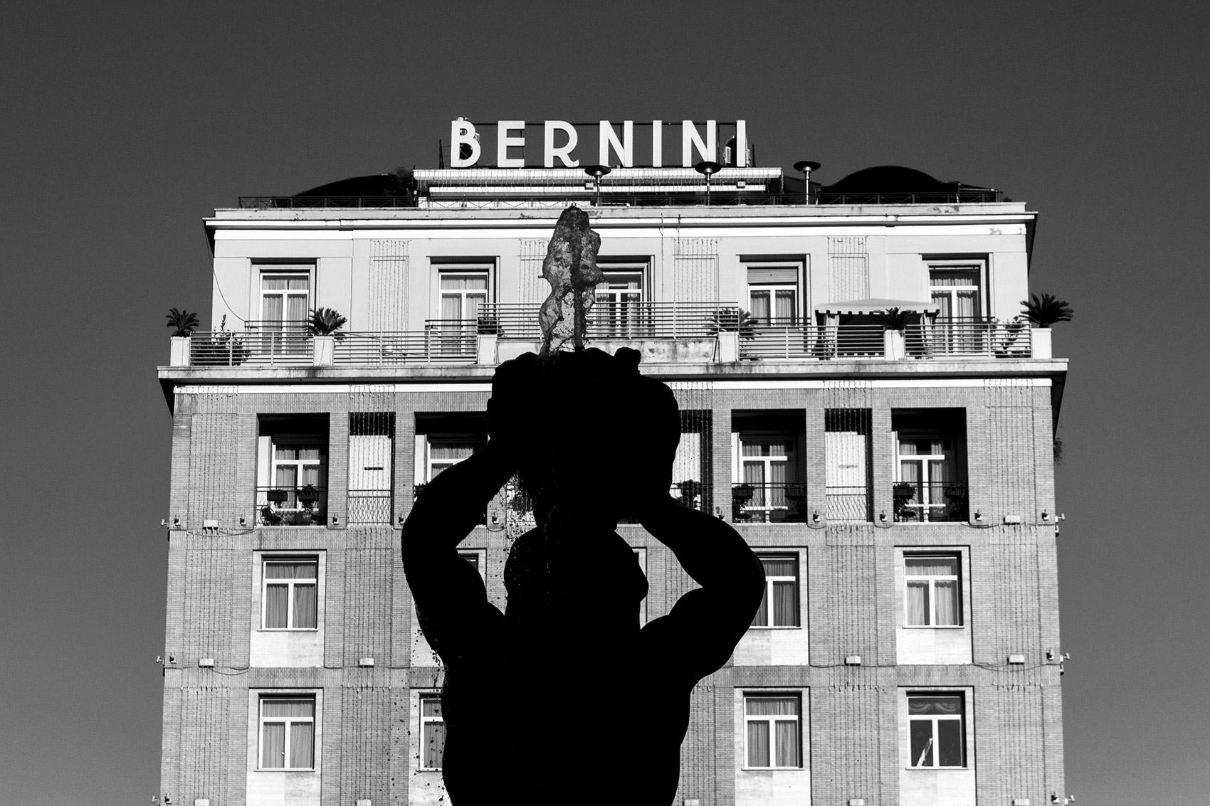 Triton sculpture in Piazza Barberini in Rome