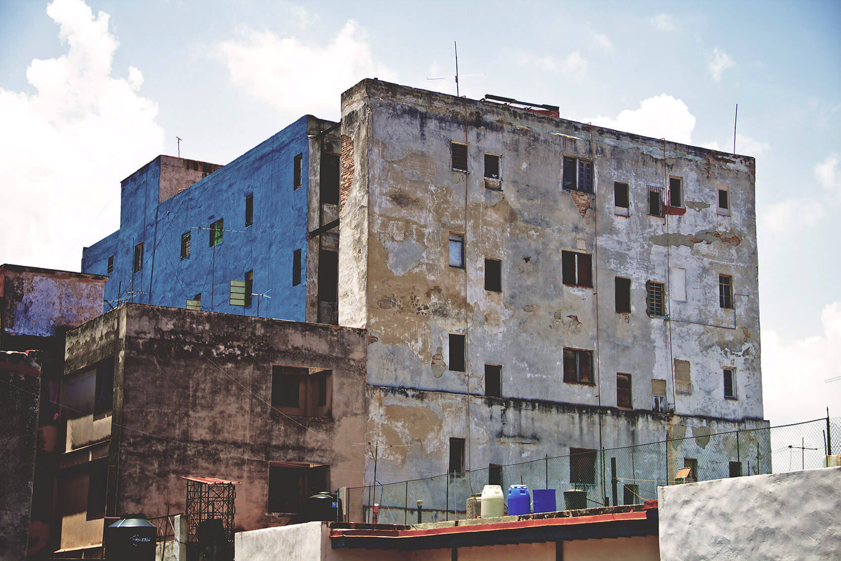 Rundown block of flat in Havana