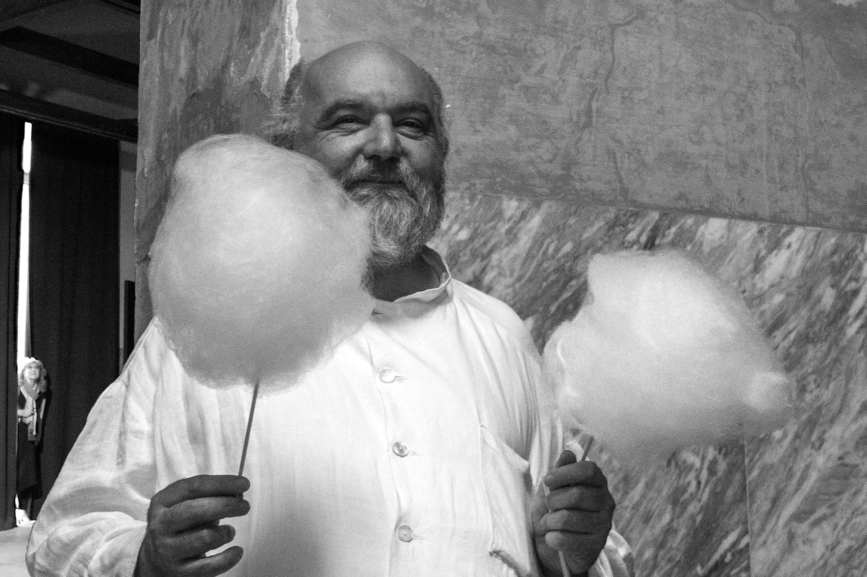 The cotton candy man
