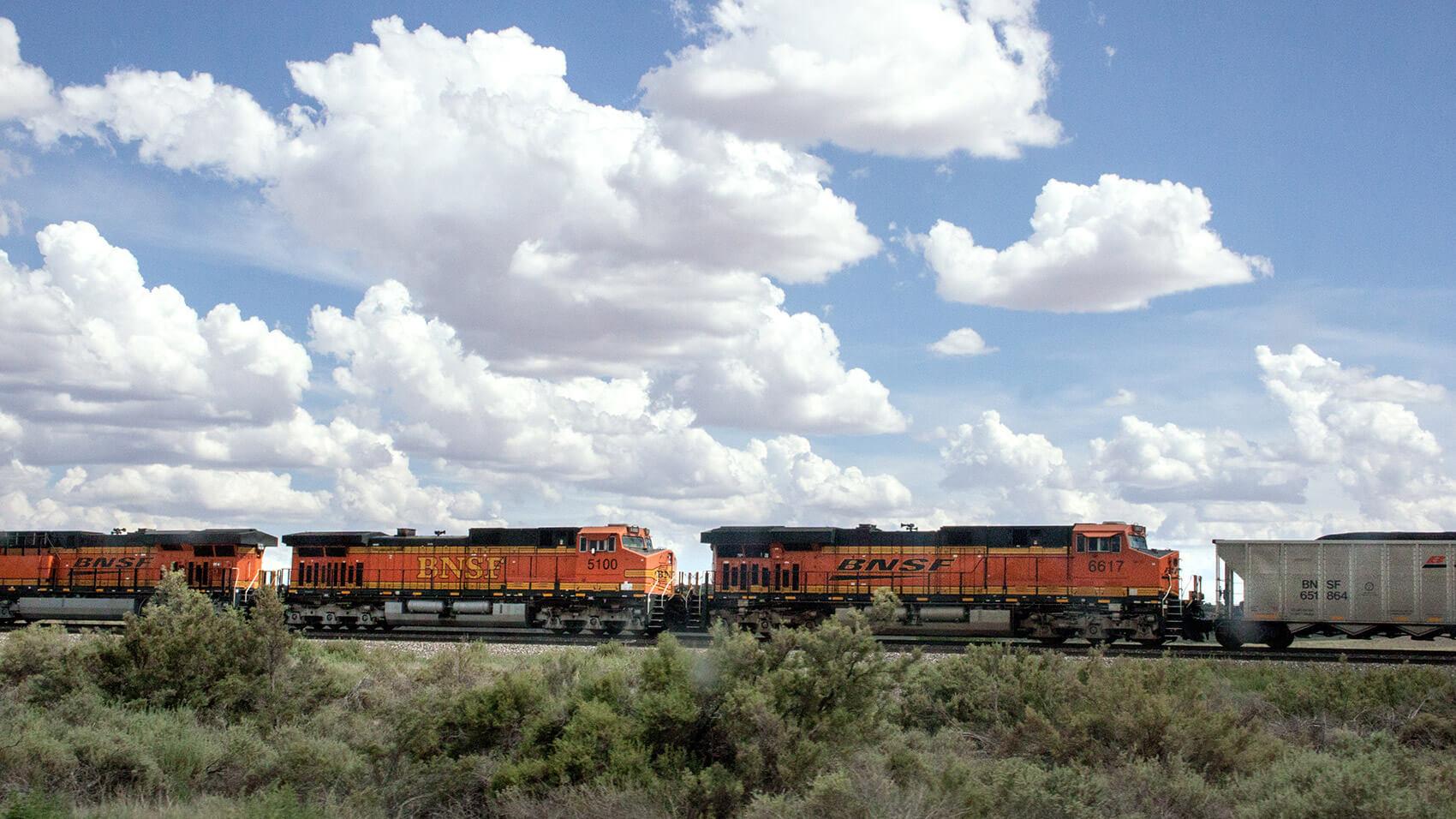 Train in Arizona