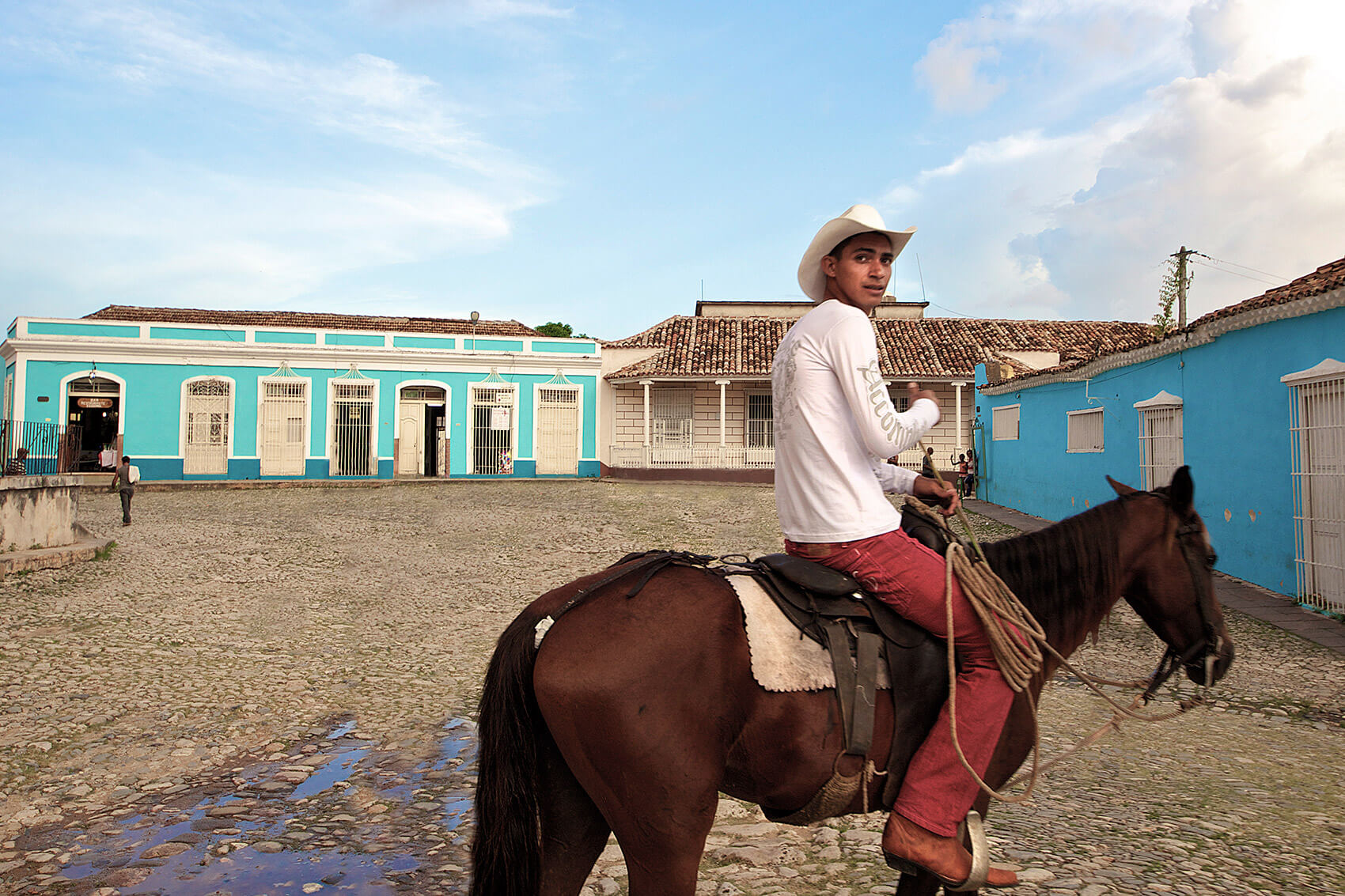 Cuban vaquero in Trinida