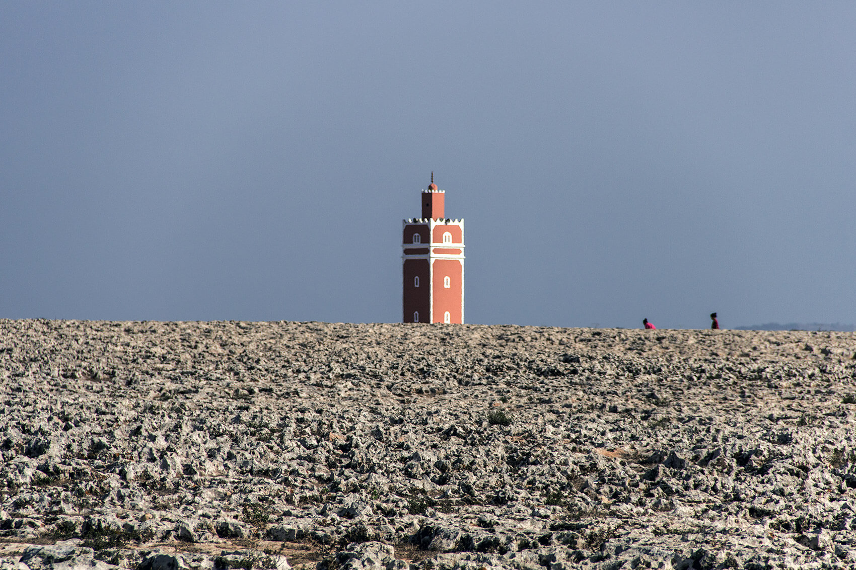 Minaret on the Atlantic coast