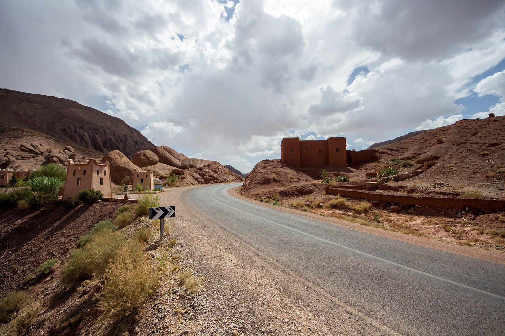 Road around Dades Valley