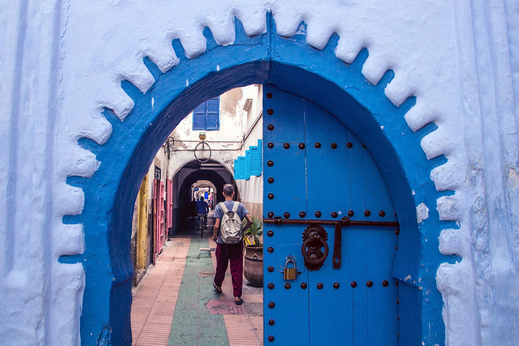 Chefchaouen passageway