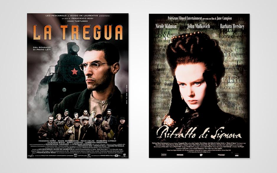 La Tregua + Ritratto di Signora Movie Posters