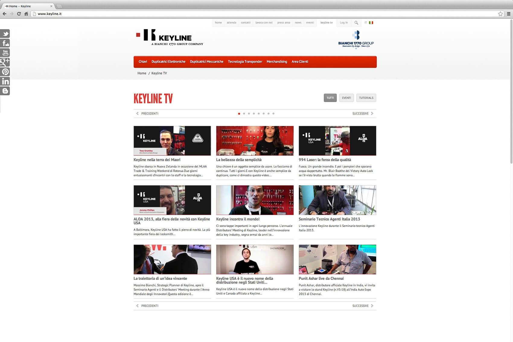 Keyline Website Redesign 1