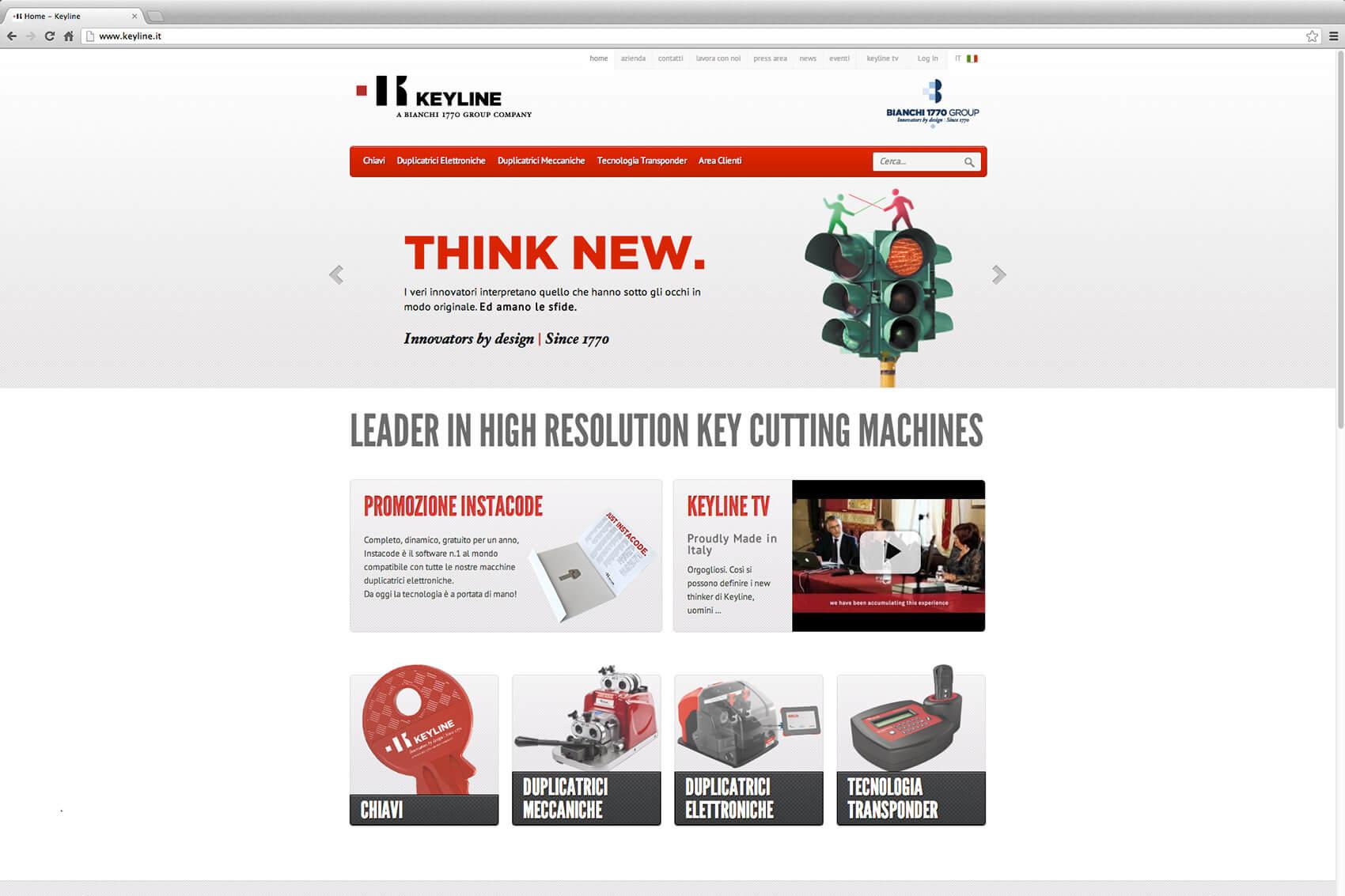 Keyline Website Redesign 3