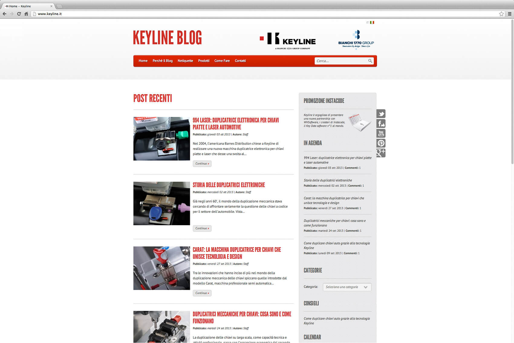 Keyline Website Redesign 4