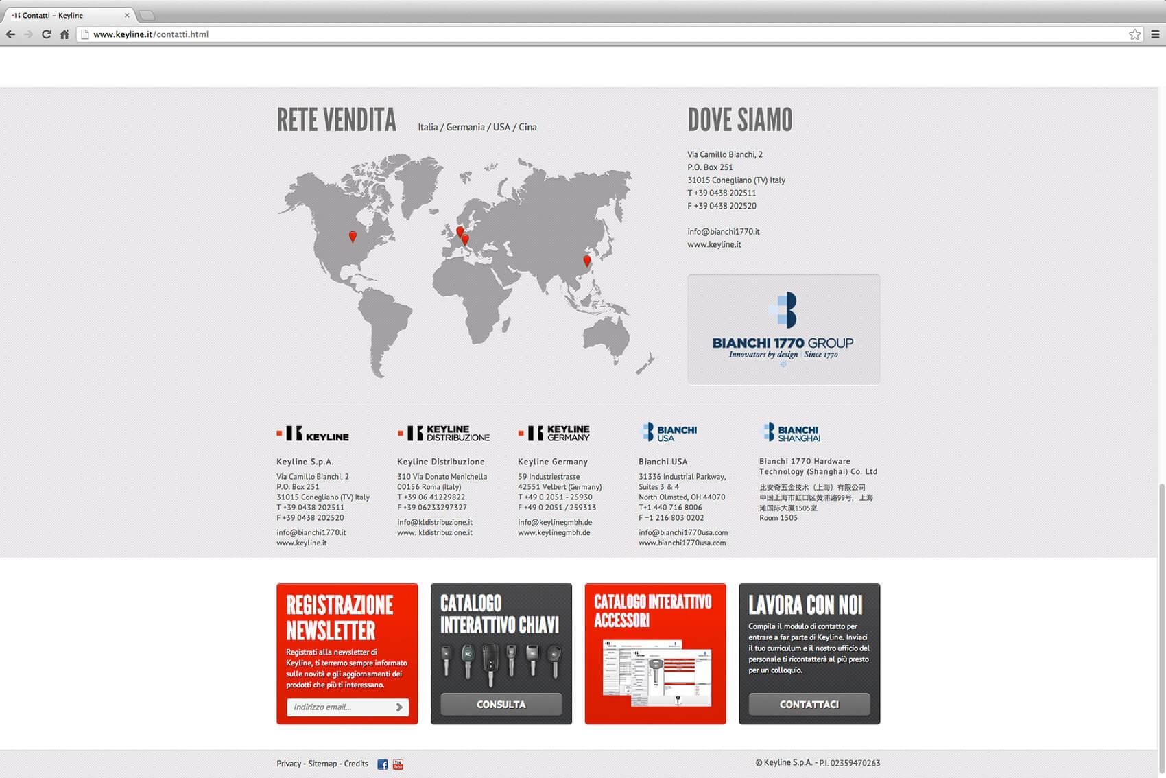 Keyline Website Redesign 5