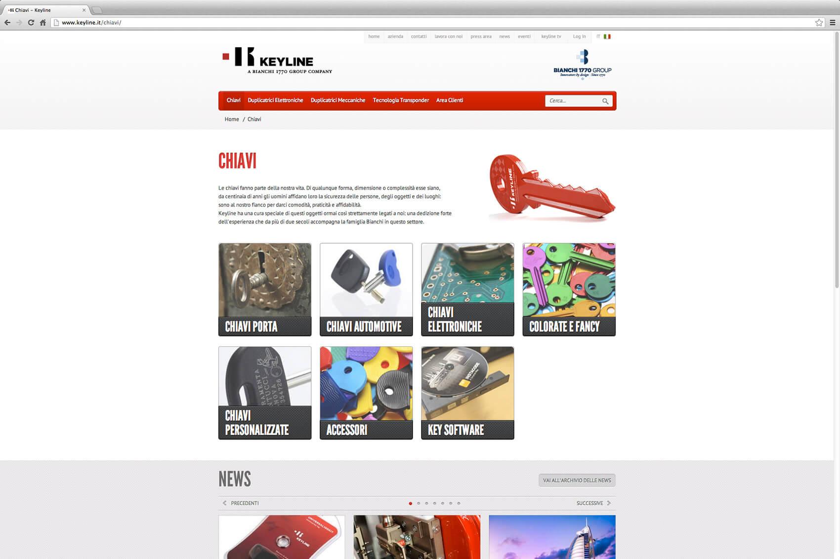 Keyline Website Redesign 6