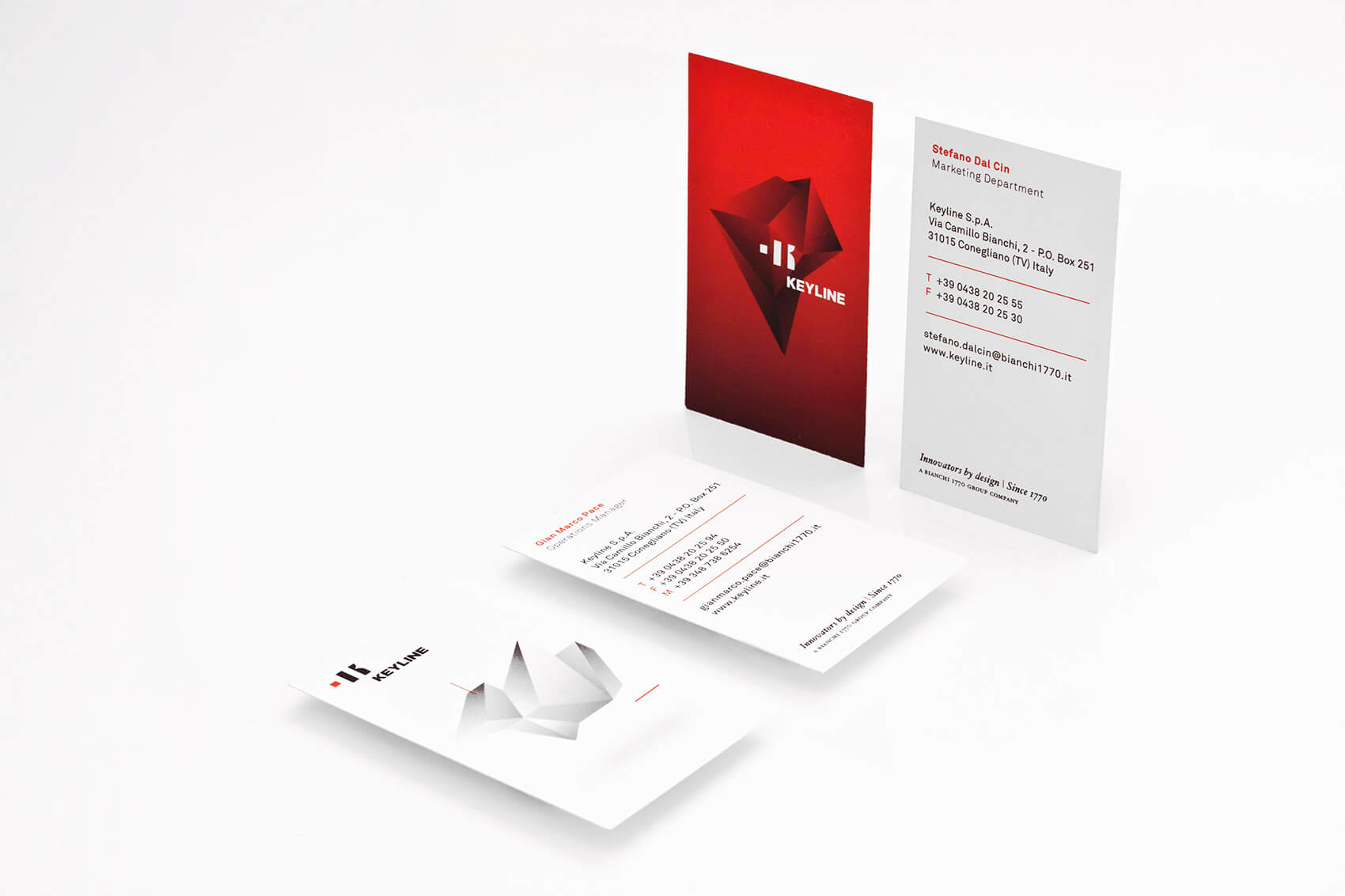 Keyline Business Cards