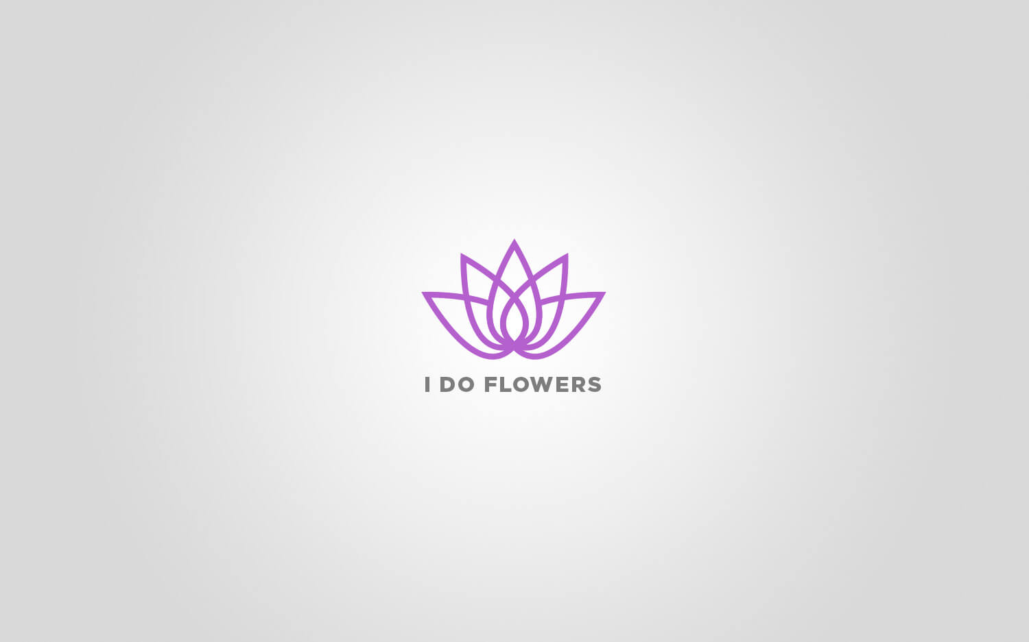 I Do Flowers Logo