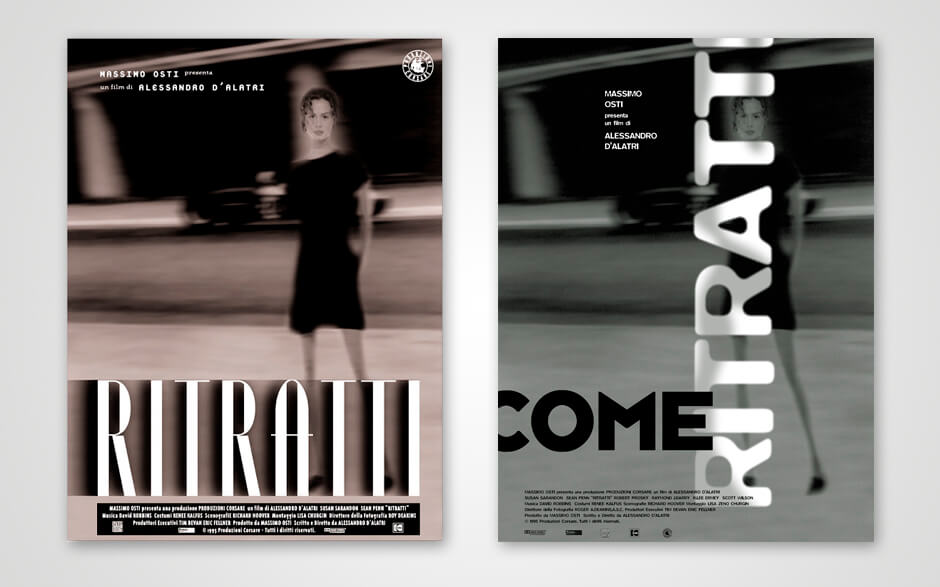 Posters for fashion company adv