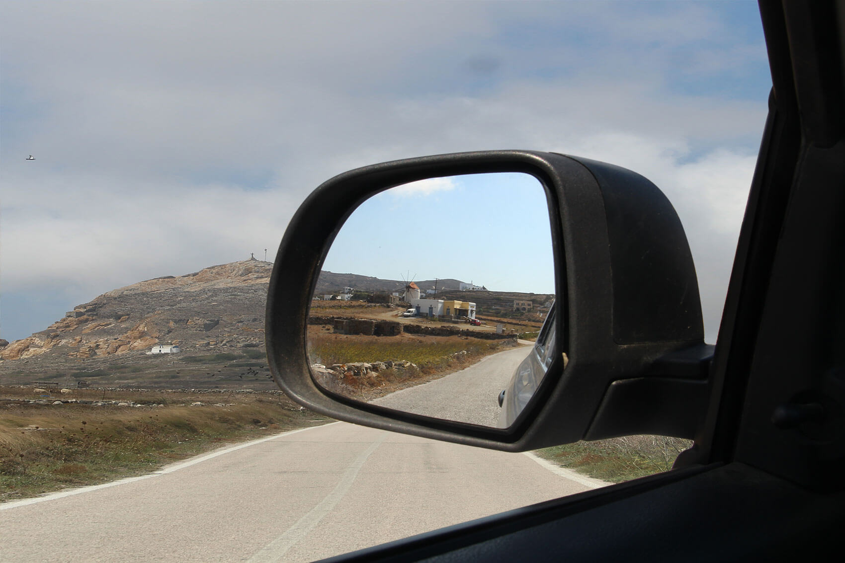 the side rear-view mirror