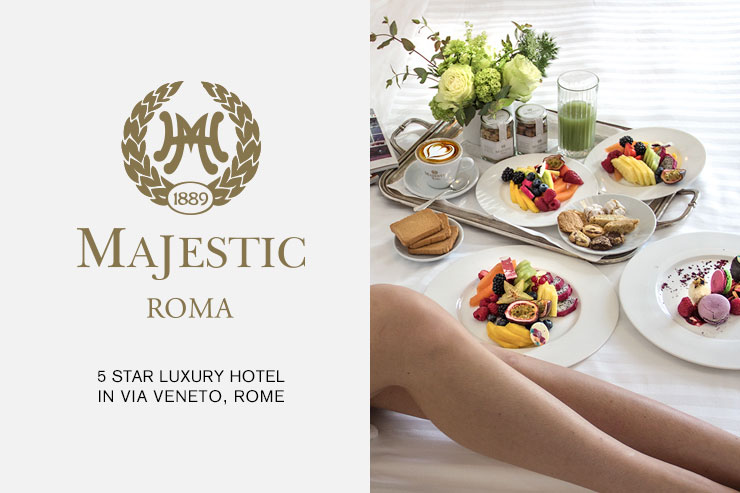 Hotel Majestic Roma Website Thumbnail